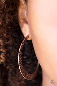 BEAST Friends Forever Paparazzi Earrings-Copper