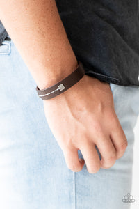 Totally Trailblazing Paparazzi Bracelet-Brown