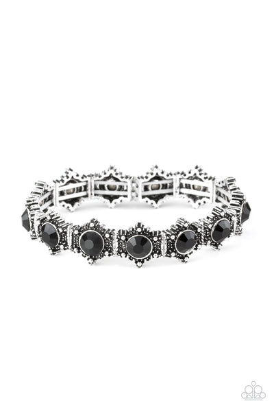 Strut Your Stuff Paparazzi Bracelet-Black