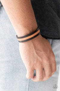 Plain View Paparazzi Bracelet-Brown