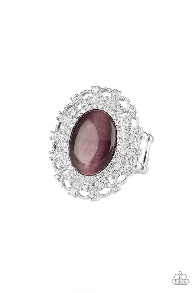 BAROQUE The Spell Paparazzi Ring-Purple