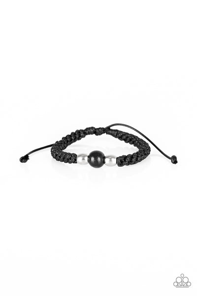Once Upon A FORESTER Paparazzi Bracelet-Black