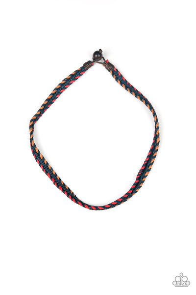 The Grand CANYONER Paparazzi Necklace-Red