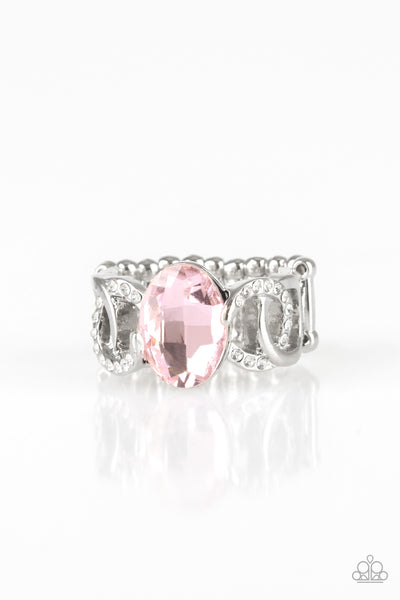 Supreme Bling Paparazzi Ring-Pink