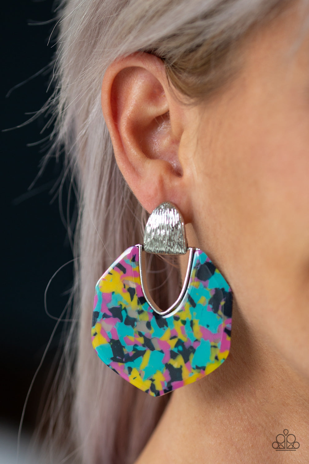 My Animal Spirit Multi-Colored Paparazzi Earrings