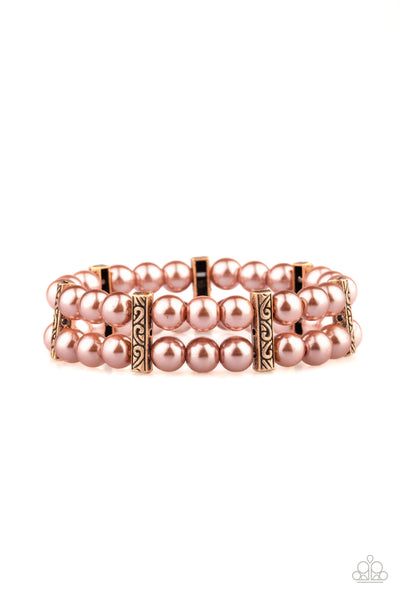 Modern Day Mariner Paparazzi Bracelet-Copper