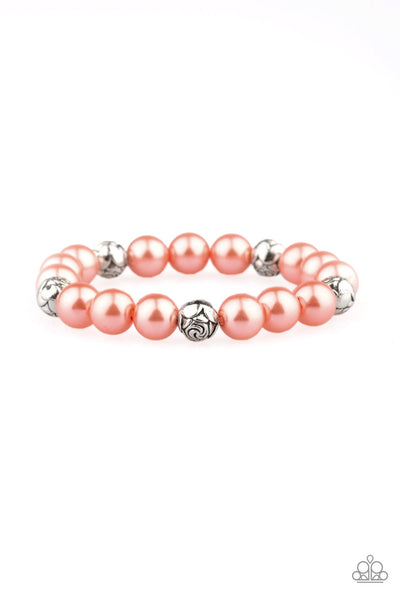 Rosy Radiance Paparazzi Bracelet-Orange