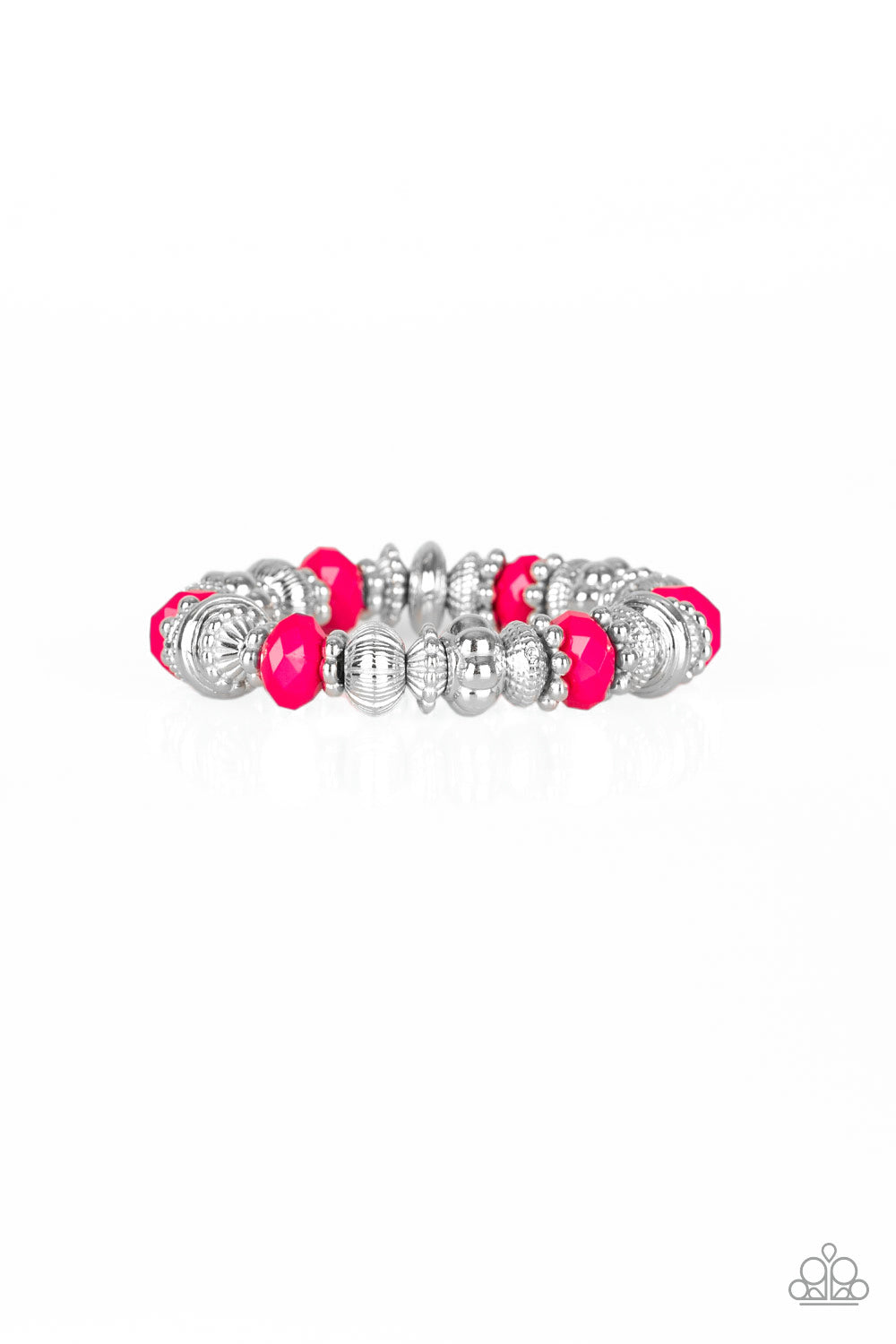 Live Life To The COLOR-fullest Paparazzi Bracelet-Pink