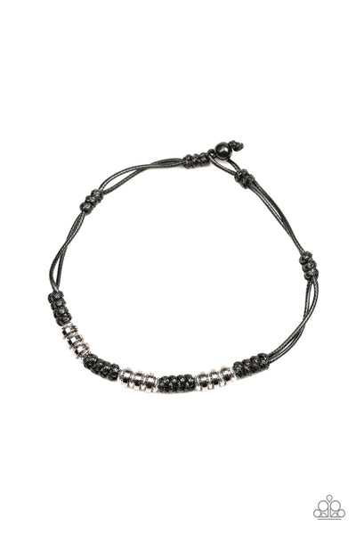 Let's Take A Ride Paparazzi Necklace-Black
