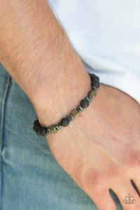 Rejuvenated Paparazzi Bracelet-Brass