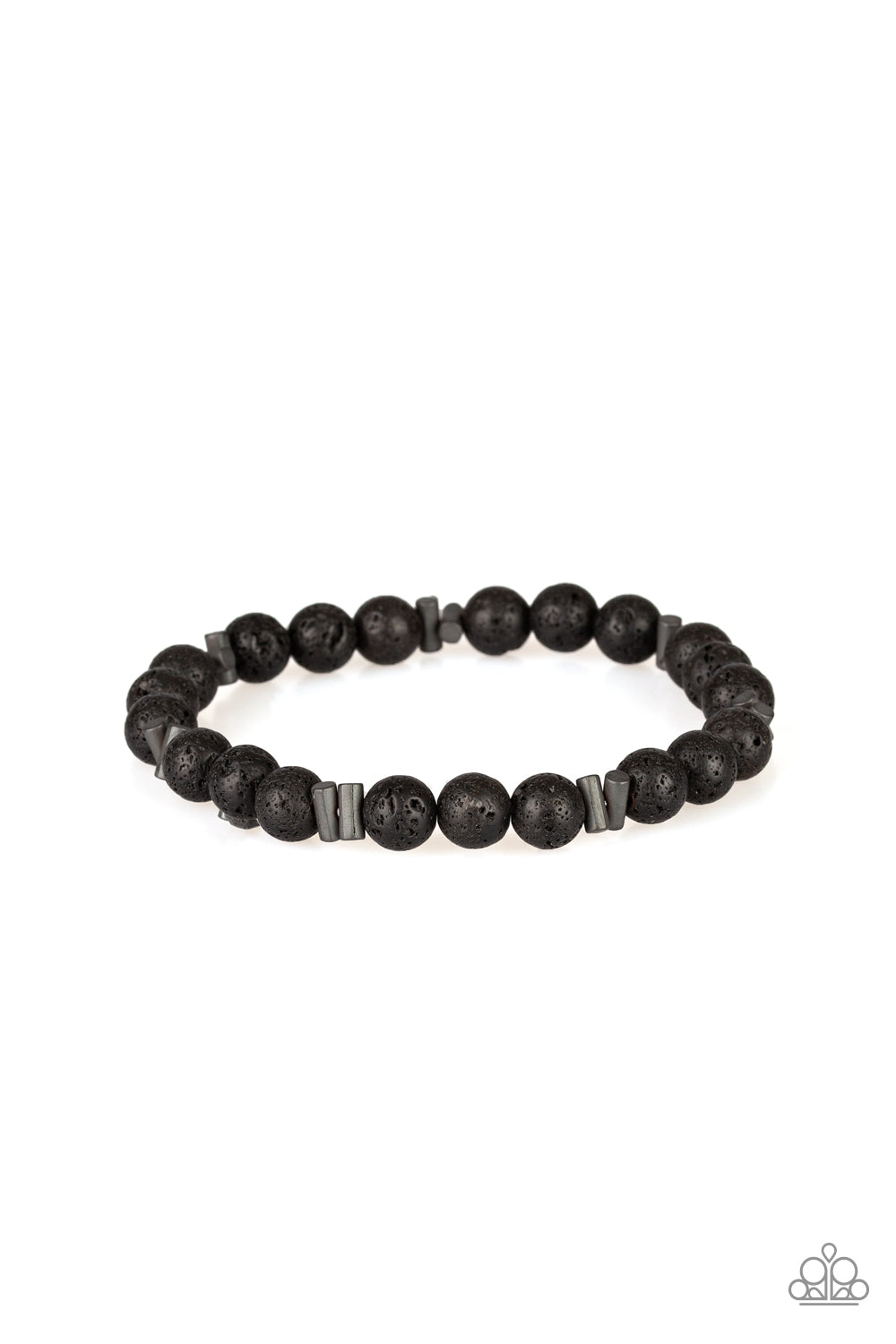 Renewed Paparazzi Bracelet-Black