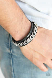 Be The CHAINge Paparazzi Bracelet-Black