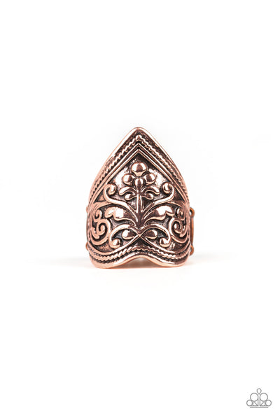 Fall Into VINE Paparazzi Ring-Copper