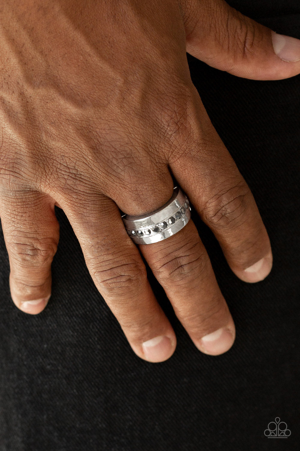Reigning Champ Paparazzi Ring-Silver