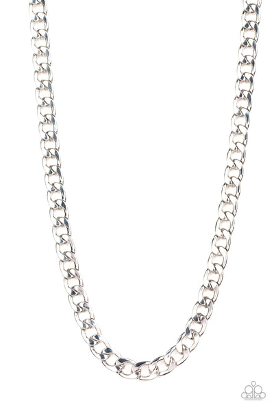 The Underdog Paparazzi Necklace-Silver