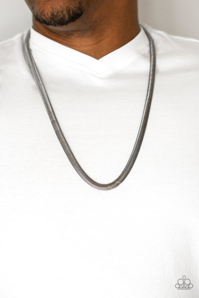 Kingpin Paparazzi Necklace-Black