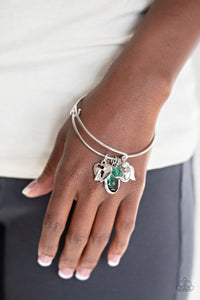 Heart of BOLD Paparazzi Bracelet-Green