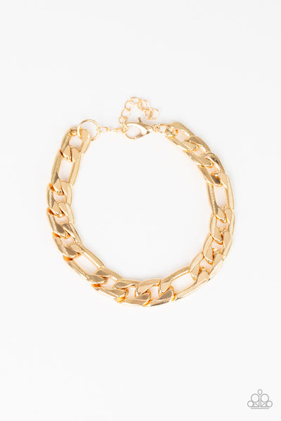 Home Team Paparazzi Bracelet-Gold