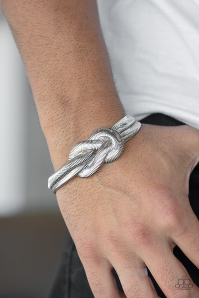 To The Max Paparazzi Bracelet-Silver