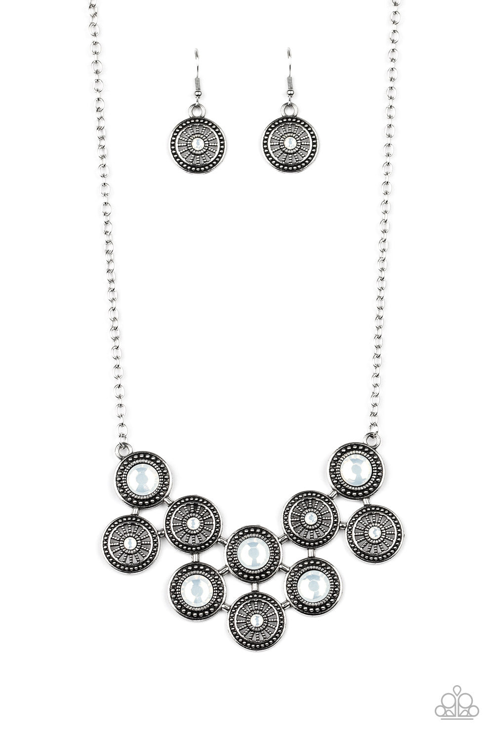 What's Your Star Sign? Paparazzi Necklace-White