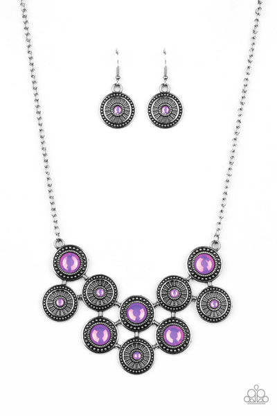 What's Your Star Sign? Paparazzi Necklace-Purple