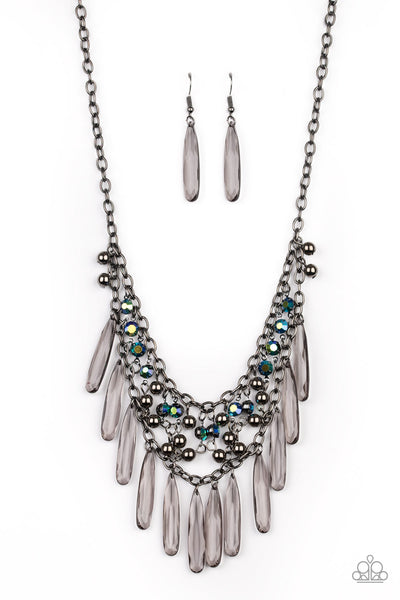 Uptown Urban Paparazzi Necklace-Multi