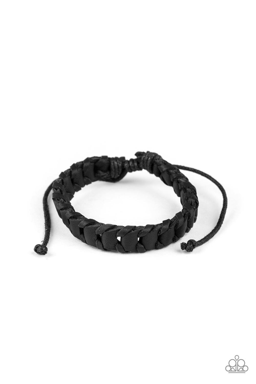 Grit and Grease Paparazzi Bracelet-Black