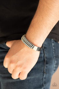 Trail Time Paparazzi Bracelet-Black