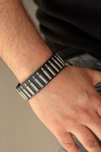 Armed And Dangerous Paparazzi Bracelet-Black