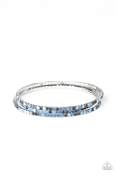 Sugar and ICE Paparazzi Bracelet-Blue