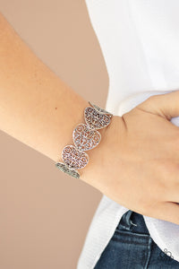 Keep Love In Your Heart Paparazzi Bracelet-Silver