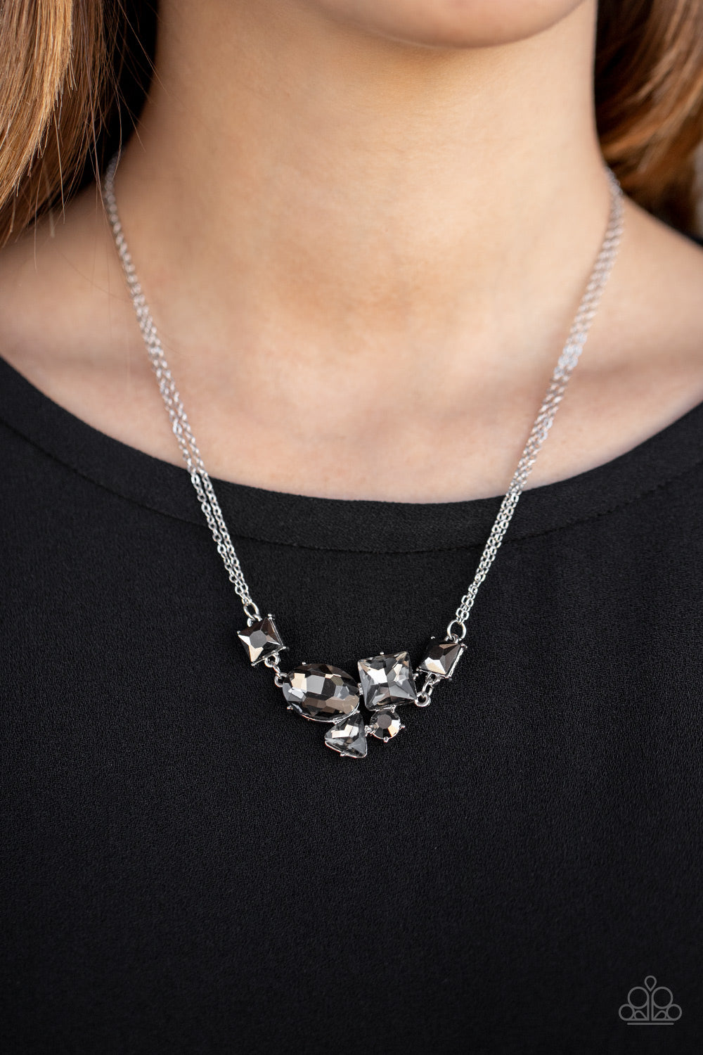 Constellation Collection Paparazzi Necklace-Silver