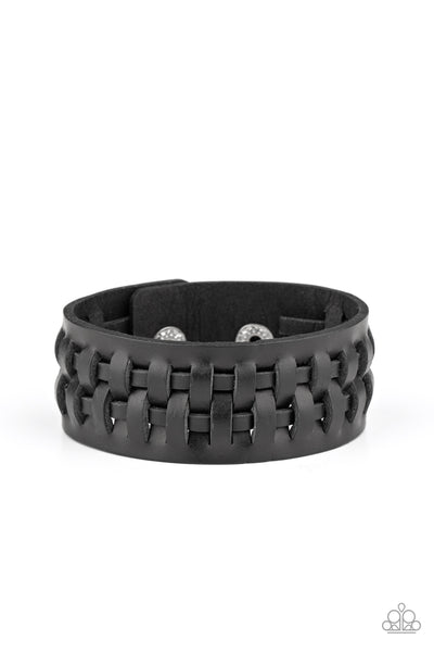 Country Life Paparazzi Bracelet-Black