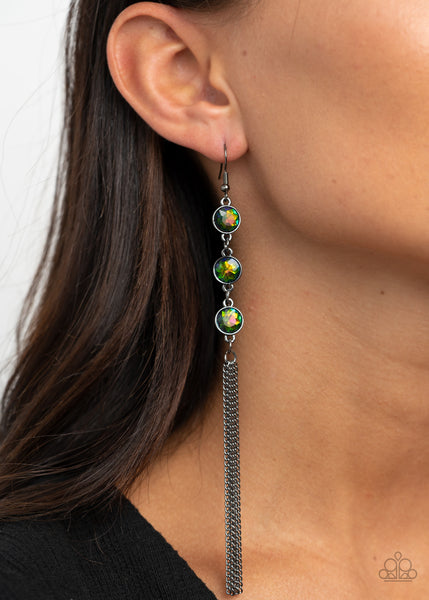 Moved to TIERS Paparazzi Earrings-Multi
