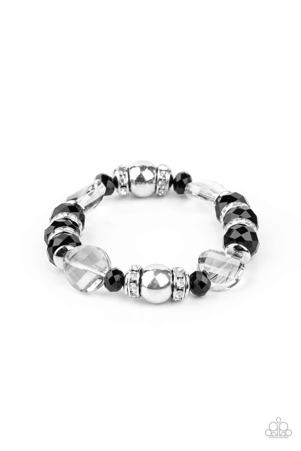 Treat Yourself Paparazzi Bracelet-Black