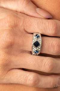 New Age Nouveau Paparazzi Ring-Blue