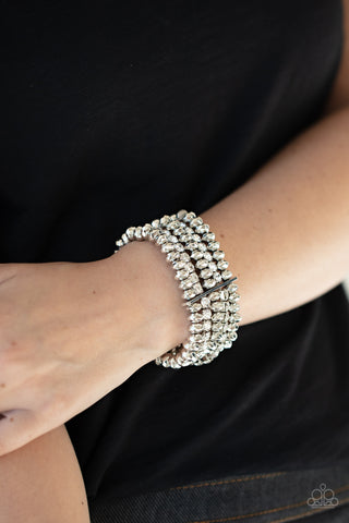 Best of LUXE Paparazzi Bracelet-White