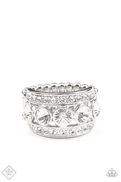 Princess Pedigree Paparazzi Ring-White