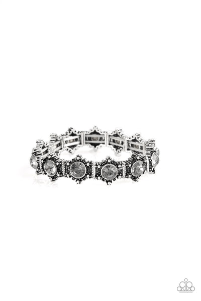 Strut Your Stuff Paparazzi Bracelet-Silver