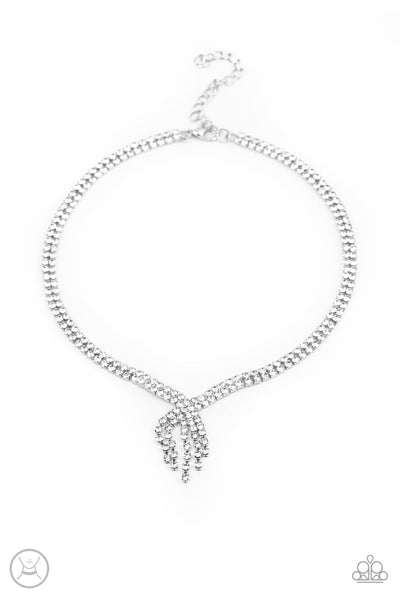 Ante Up Paparazzi Necklace-Silver