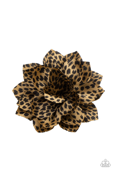 Deep In The Jungle Paparazzi Hair Clip-Multi