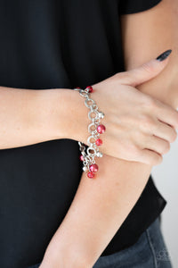 Fancy Fascination Paparazzi Bracelet-Red