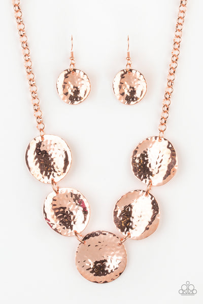 First Impressions Paparazzi Necklace-Copper