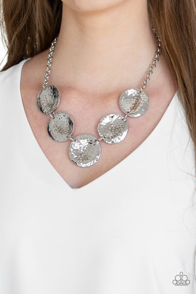 First Impressions Paparazzi Necklace-Silver