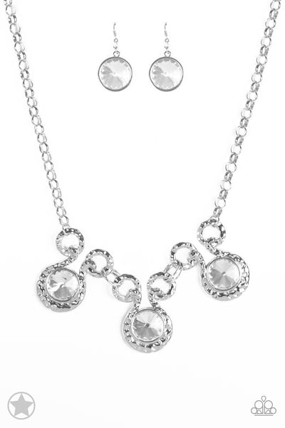 Hypnotized Paparazzi Necklace-Silver