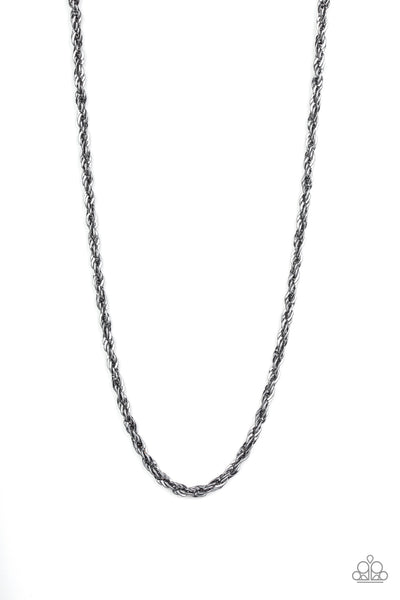 Instant Replay Paparazzi Necklace-Black