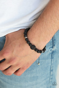 Intention Paparazzi Bracelet-Black