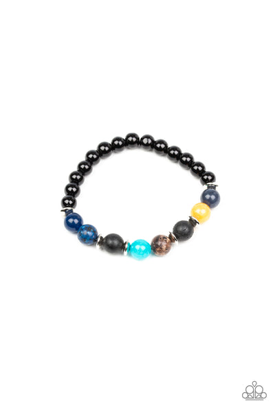 Journey Paparazzi Bracelet-Multi