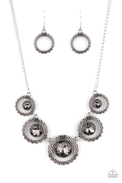PIXEL Perfect Paparazzi Necklace-Silver