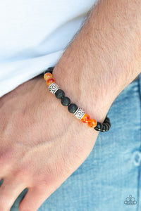 Proverb Paparazzi Bracelet-Orange